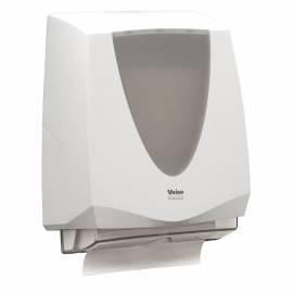 """Диспенсер для полотенец листовых Veiro Professional """"Prima"""" (VZW), пластик, механический, белый"""