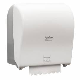 """Диспенсер для полотенец в рулонах Veiro Professional """"Pod"""", пластик, механический, белый"""