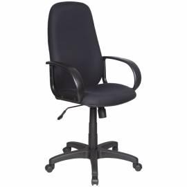 Кресло руководителя Бюрократ CH-808AXSN/B, PL, ткань черная 3C11