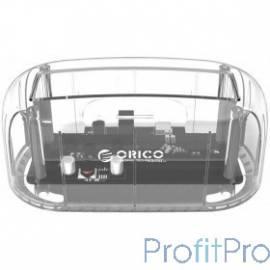 ORICO 6139U3-CR Док-станция для HDD (прозрачный)