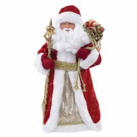 "Декоративная кукла ""Дед Мороз в красном костюме"", 30см"