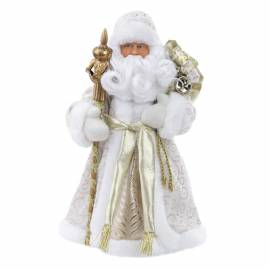 "Декоративная кукла ""Дед Мороз в золотом костюме"", 30см"