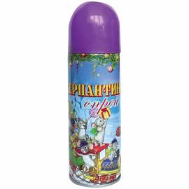 Серпантин синтетический в спрее, 250мл, фиолетовый