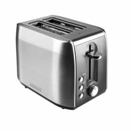 Тостер Redmond RT-M409, 900Вт, металл, с режимом разморозки, серебристый