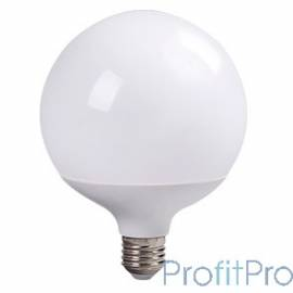 ECOLA K7LW30ELC globe LED Premium 30,0W G120 220V E27 2700K 320° шар (композит) 170x120