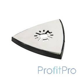 Полотно для МФИ Hammer Flex 220-022 MF-AC 022 80мм подошва для шлифлистов треугольная дерево/металл [54486]
