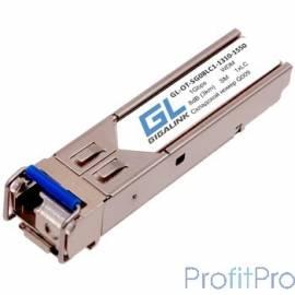 GIGALINK GL-OT-SF14SC1-1310-1550 Модуль SFP, WDM, 100/155 Мбит/c, одно волокно SM, SC, Tx:1310/Rx:1550 нм, 14 дБ (до 20 км) (GL