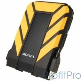 "A-Data Portable HDD 1Tb HD710 AHD710P-1TU31-CYL USB3.1, 2.5"", Black-Yellow"