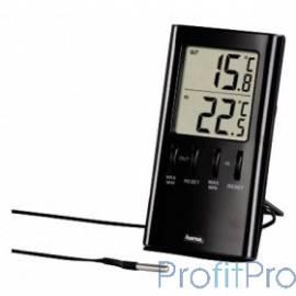 Термометр Hama Т-350 H-123143 черный [959850]