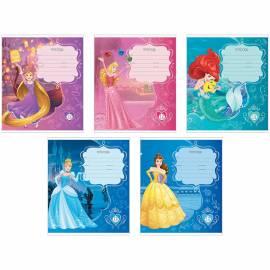 """Тетрадь 12л. клетка """"Принцессы Disney. Королевский бал"""""""