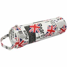 """Пенал-тубус 200*60 """"Great Britain"""", ПВХ, с ручкой"""