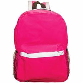 Рюкзак 40*27*13см, 1 отделение, мягкая спинка, с отражателями