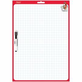 Доска для рисования с маркером двухсторонняя 240*340мм