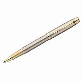 "Ручка-роллер ""IM Brushed Metal GT"" черная, 0,8мм, подар.уп."