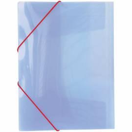 """Папка на резинке Berlingo """"Line"""" А4, 400мкм, полупрозрачная фиолетовая"""