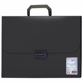 Папка-портфель 1 отделение OfficeSpace, 700мкм, черный