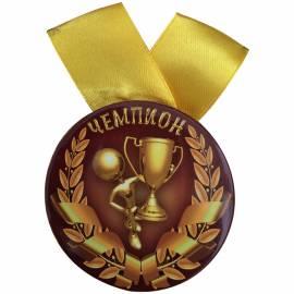 "Медаль ""Чемпион"", металл"