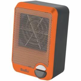 Тепловентилятор  900Вт Ballu BFH/S-03, спираль. нагрев. элемент, 1 режим, серый/оранжевый