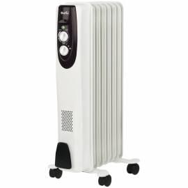 Радиатор масляный 1500Вт Ballu BOH/CL-07WRN, механич. тип, белый
