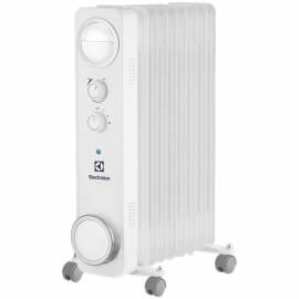 Радиатор масляный 2000Вт Electrolux EOH/M-6209, механич. тип, белый