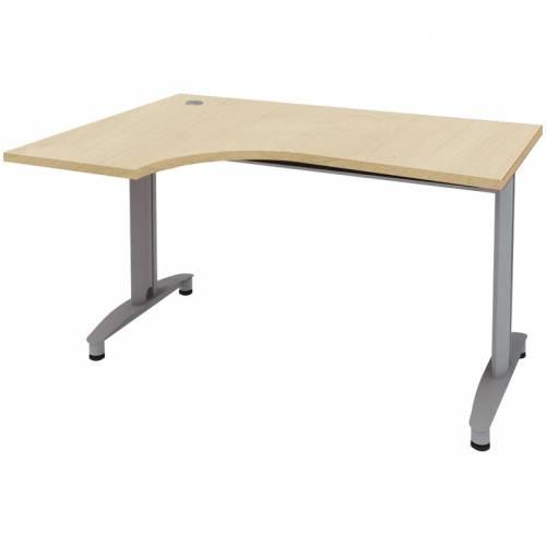 Купить стол письменный угловой левосторонний на металлокарка.