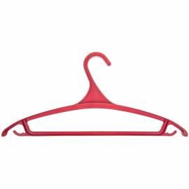 Вешалка-плечики для легкой верхней одежды, пластик,  р.48-50, цветная