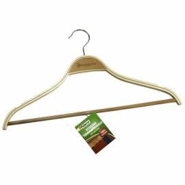 Вешалка-плечики для легкой одежды, дерево ламинированное, перекладина, 45см, цвет натуральный