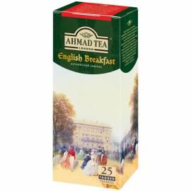 """Чай Ahmad """"Английский завтрак"""", черный, 25 пакетиков по 2г"""
