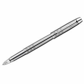 "Ручка Пятый пишущий узел ""IM Premium Shiny Chrome Metal Chiselled CT"" черная, 0,8мм, подар. уп."
