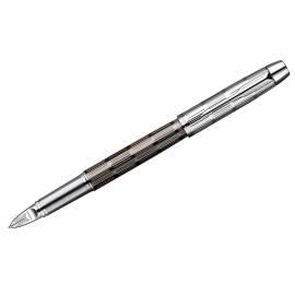 "Ручка Пятый пишущий узел ""IM Premium Twin Metal Chiselled CT"" черная, 0,8мм, подар. уп."