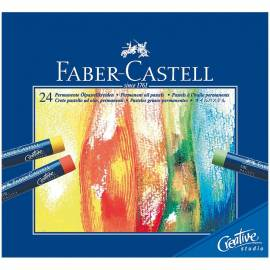 Пастель масляная STUDIO QUALITY 24 цвета, картон. уп.