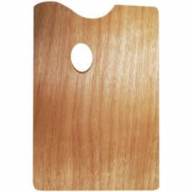 Палитра 20*30, прямоугольная, деревянная