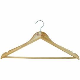 Вешалка-плечики для легкой одежды, дерево, перекладина, 45см, цвет натуральный