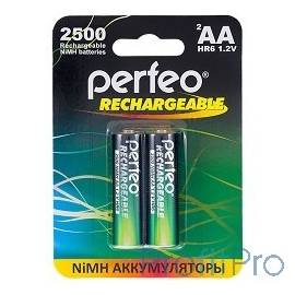 Perfeo AA2500mAh/2BL (2шт. в уп-ке)