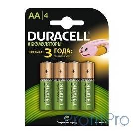DURACELL HR6-4BL AA 1300mAh (4шт. в уп-ке)