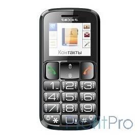 TEXET TM-B114 Мобильный телефон цвет черный