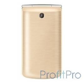TEXET TM-404 мобильный телефон цвет золотистый
