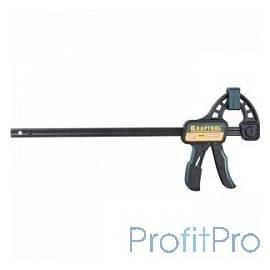 """Струбцина KRAFTOOL  """"EXPERT"""" """"EcoKraft"""" ручная пистолетная, пластиковый корпус, 600/800мм, 150кгс [32226-60]"""