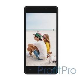 "IRBIS SP58 black, 5"" IPS (1280x720), MT6737, 1024MB, 8GB, front cam 2.0 MPx, back cam 8.0MPx, 3g, LTE, Wi-Fi, GPS,  Android 6.0"