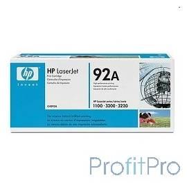 HP C4092A Картридж LJ 1100/1100A/X, LJ 3200, (2500стр.)