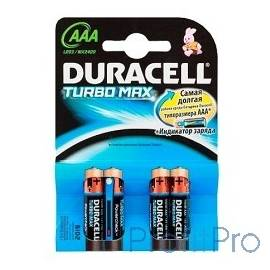 DURACELL LR03-4BL TURBO (MX2400) AAA (4 шт. в уп-ке)