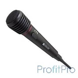 Defender MIC-142 Микрофон динамический беспроводной [64142]