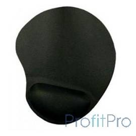 Коврик для мыши Buro BU-GEL black [817304]
