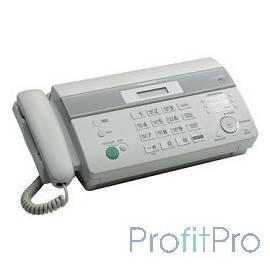 Panasonic KX-FT982RU-W (белый) термобумага, АОН, память 100 ном., автоподатчик 10 л., монитор