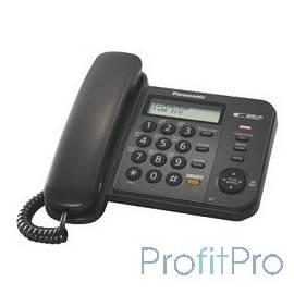 "Panasonic KX-TS2358RUB (черный) АОН,Caller ID,ЖКД,блокировка набора,выключение микрофона,кнопка ""пауза"""