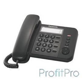 Panasonic KX-TS2352RUB (черный) индикатор вызова,порт для доп. телеф. оборуд.,4 уровня громкости звонка