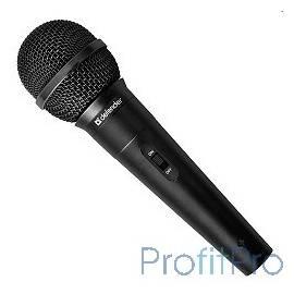 Defender MIC-129 Микрофон динамический для караоке (черный) 5м [64129]