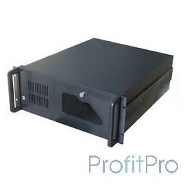 """Procase B430-B-0 черный 4U глубина 450мм, внешн 3x5.25, внутр 8xHDD, MB 12""""x9.6"""",без Б/П PS2"""