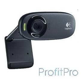 960-000638/960-001065 Logitech HD Webcam C310, USB 2.0, 1280*720, 5Mpix foto, Mic, Black