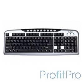 CBR KB 300M Silver USB, Клавиатура 107+9 доп. кл.
